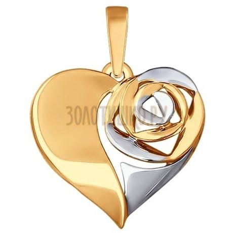 Золотая подвеска 035293