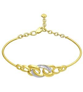 Золотой браслет 050910-2