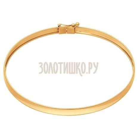 Золотой браслет 050935
