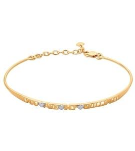 Золотой браслет 050940