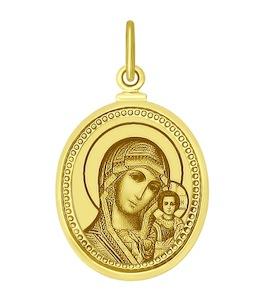 Золотая иконка 100139-2