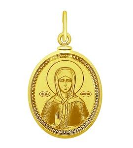 Золотая иконка 101333-2