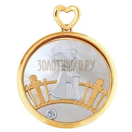 Золотая подвеска 1030602