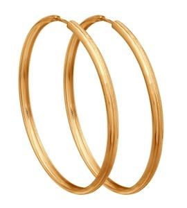 Золотые серьги конго 140109