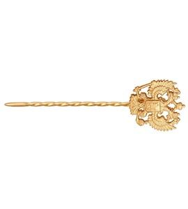 Золотая брошь 190011