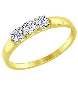 Золотое кольцо 81010283-2