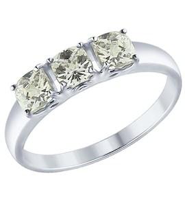 Серебряное кольцо 89010063