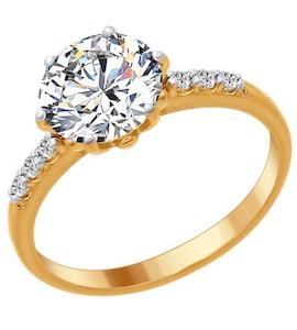 Серебряное кольцо 89010083