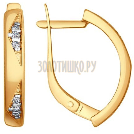 Серебряные серьги 93020797
