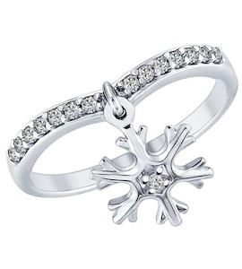 Серебряное кольцо 94012359