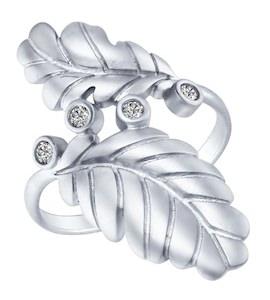 Серебряное кольцо 94012364