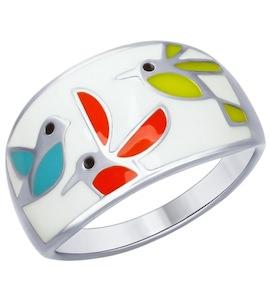 Серебряное кольцо 94012447