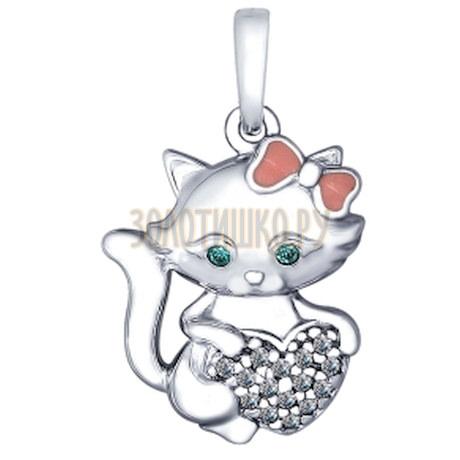Серебряная подвеска 94032010