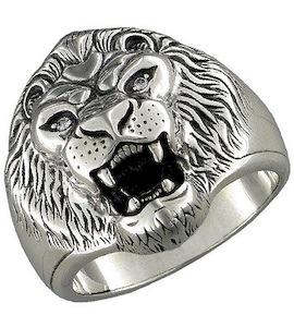 Серебряное кольцо с фианитами 95010021