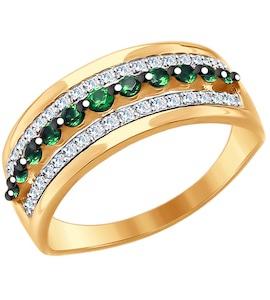 Кольцо из красного золота 017644
