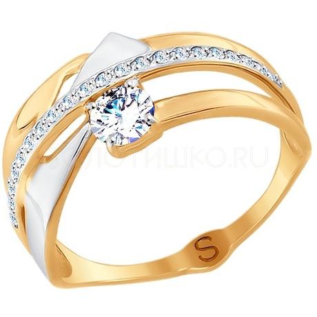 Кольцо из красного золота 017700
