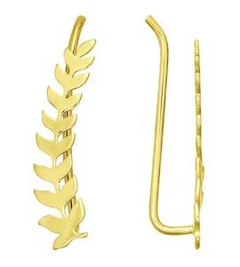 Серьги из желтого золота 026584-2
