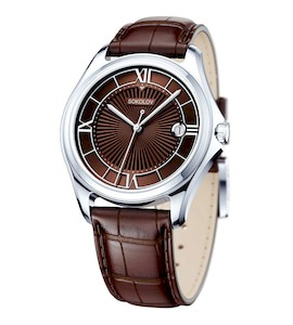 Мужские серебряные часы 135.30.00.000.04.03.3