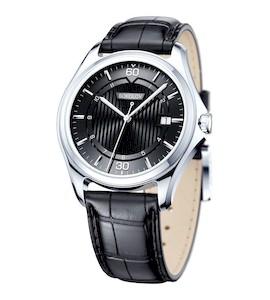 Мужские серебряные часы 135.30.00.000.06.01.3