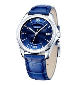 Мужские серебряные часы 135.30.00.000.07.02.3