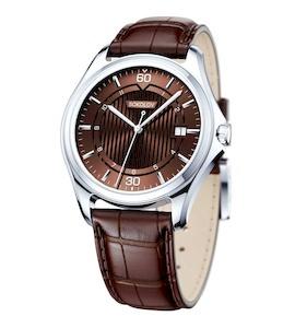 Мужские серебряные часы 135.30.00.000.08.03.3