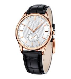 Мужские золотые часы 237.01.00.000.03.01.3