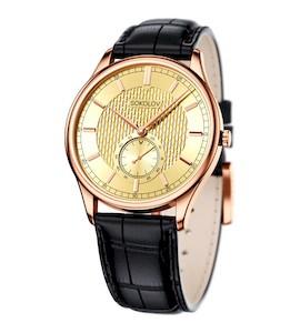 Мужские золотые часы 237.01.00.000.04.01.3
