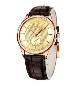 Мужские золотые часы 237.01.00.000.04.02.3