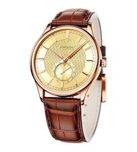 Мужские золотые часы 237.01.00.000.04.03.3
