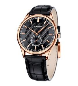Мужские золотые часы 237.01.00.000.05.01.3