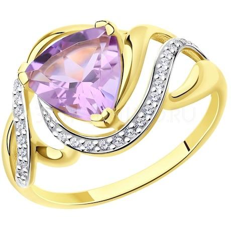 Кольцо из желтого золота 714724-2