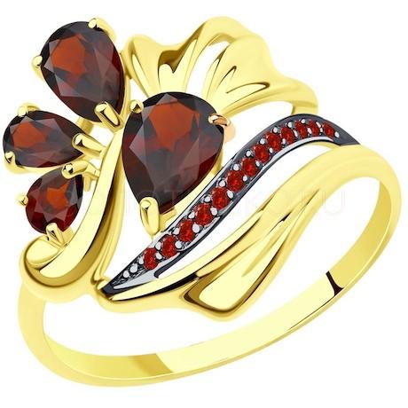 Кольцо из желтого золота 714760-2