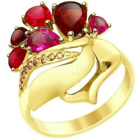 Кольцо из желтого золота 714833-2