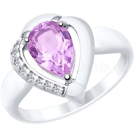 Кольцо из серебра 92011482