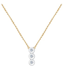 Колье из золота с бриллиантами 1070063