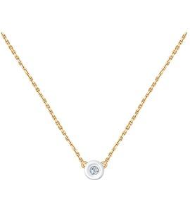 Колье из золота с бриллиантом 1070065