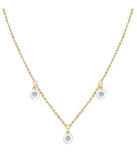 Колье из золота с бриллиантами 1070067