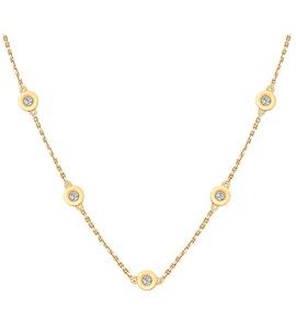 Колье из золота с бриллиантами 1070071