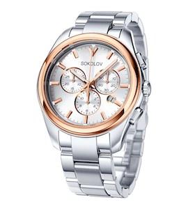 Мужские часы из золота и стали 139.01.71.000.01.01.3