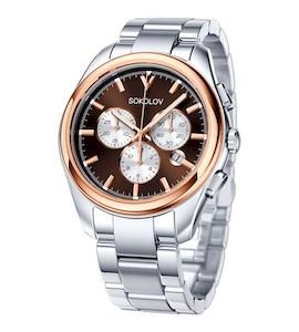 Мужские часы из золота и стали 139.01.71.000.05.01.3