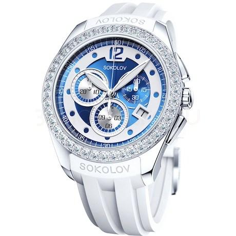 Женские серебряные часы 149.30.00.001.05.06.2