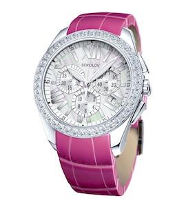 Женские серебряные часы 149.30.00.001.07.03.2