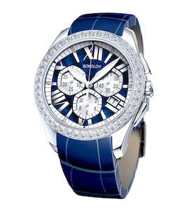 Женские серебряные часы 149.30.00.001.09.04.2