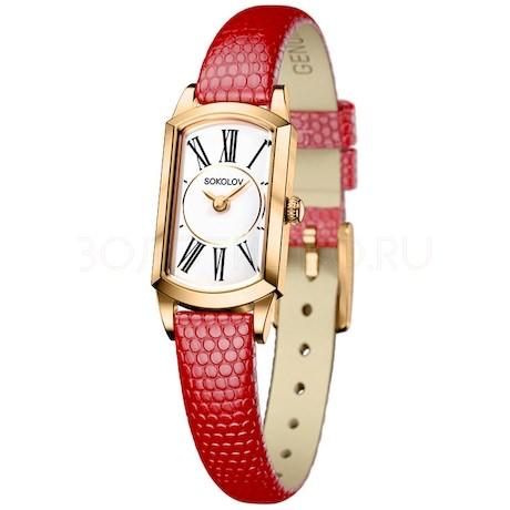 Женские золотые часы 221.02.00.000.01.04.3