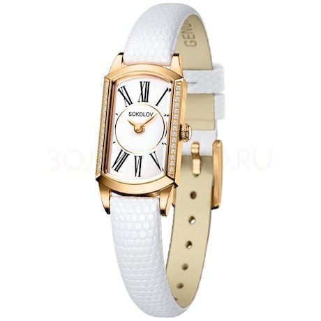 Женские золотые часы 222.02.00.001.01.02.3