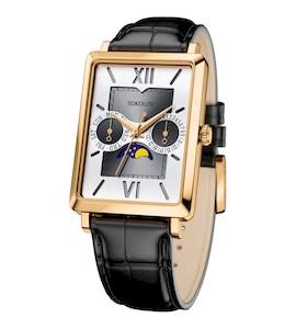 Мужские золотые часы 233.02.00.000.03.01.3