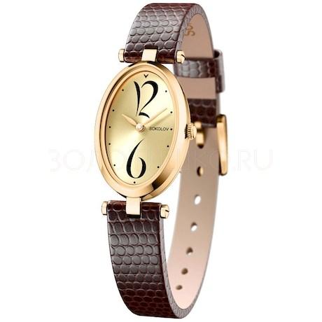Женские золотые часы 235.02.00.000.06.07.2