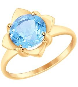 Кольцо из золота с топазом 37714949
