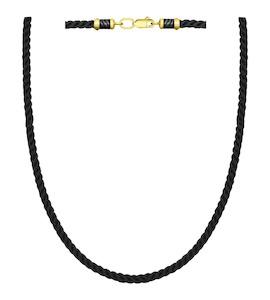 Шнур с замочком из золочёного серебра 95080006