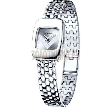 Женские серебряные часы 124.30.00.000.04.09.2